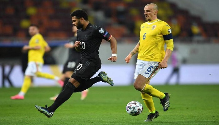 Gnabry strike seals Germany's away win in Bucharest