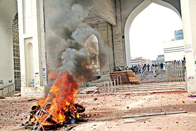 Case filed over clash at Baitul Mukarram