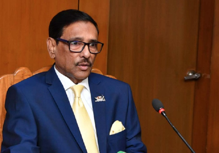 Govt plans to construct 128-km long railway network in city: Quader
