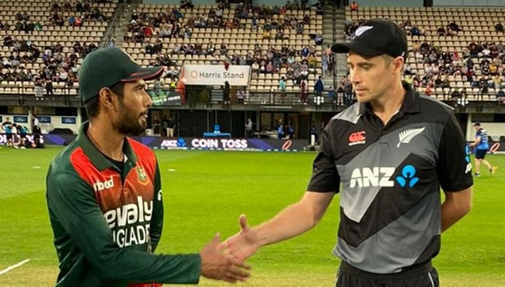 Bangladesh win toss and bowl in 2nd New Zealand T20