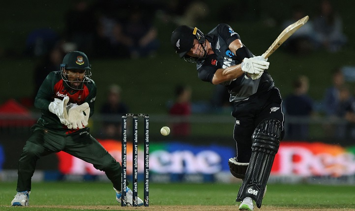Bangladesh bat to chase 170 in 16 overs