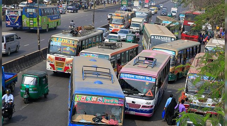Public transport to run with half capacity, 60 percent hike in bus fare