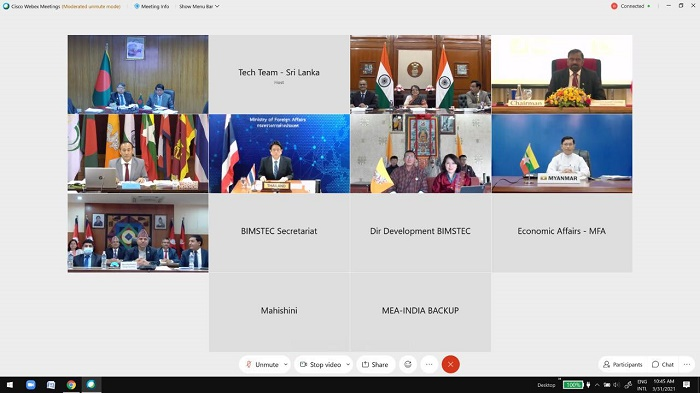 Special session of BIMSTEC Senior Officials' meeting in Colombo