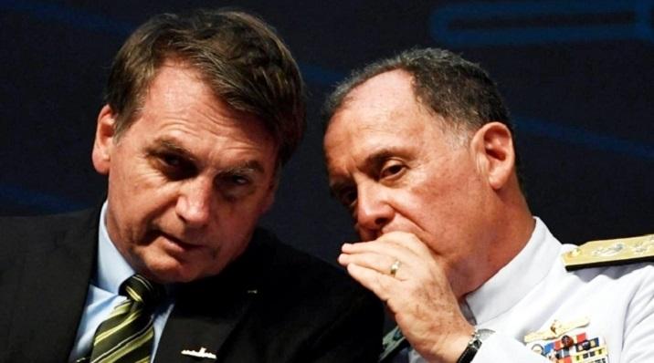 Brazil military chiefs exit in new turmoil for Bolsonaro