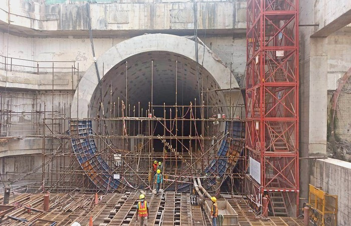 Work on Bangabandhu Tunnel going on in full swing