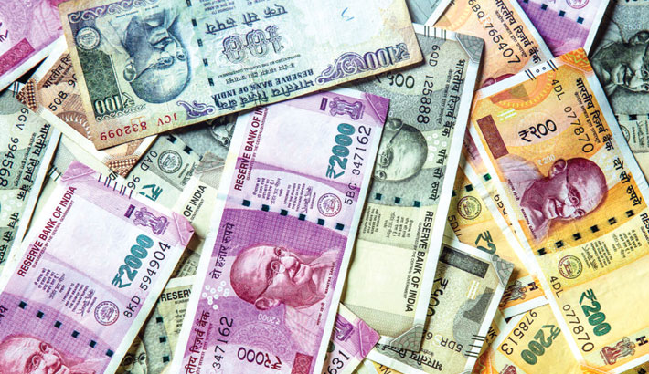 Indian rupee slumps 34 paise to $72.85