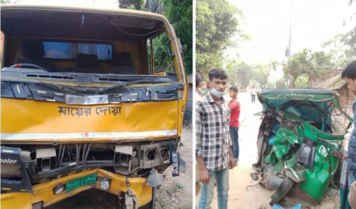 4 killed as truck hits auto-rickshaw in Raozan