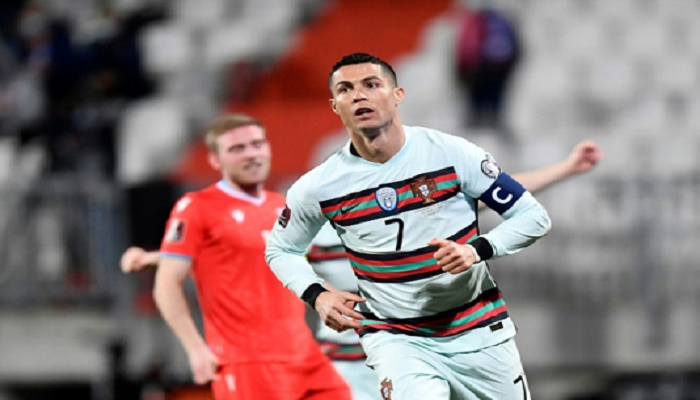 Ronaldo helps Portugal past Luxembourg, Belgians join Qatar protests in Belarus rout