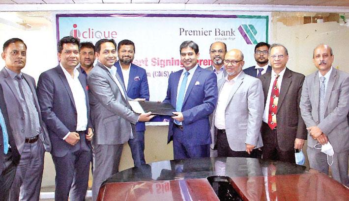 Premier Bank, ICSL sign deal