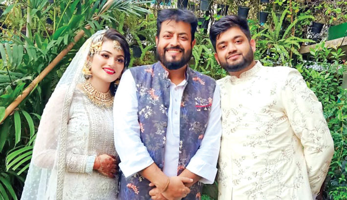 Omar Sani, Moushumi happy with Ayesha