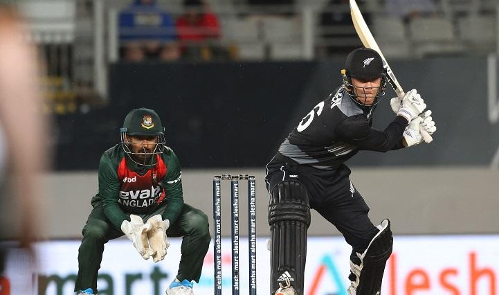 Bangladesh win toss, bowl in rain-hit New Zealand T20