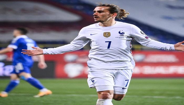 Griezmann goal gives France win in Bosnia