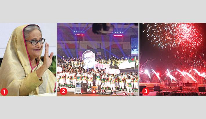 Bangabandhu Bangladesh Games opened