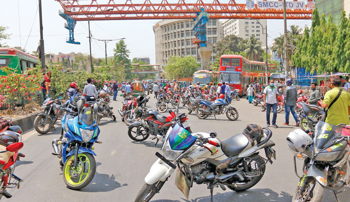Ridesharing Ban Protest