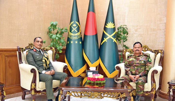 Chief of Defence Force of Maldives calls on Army chief