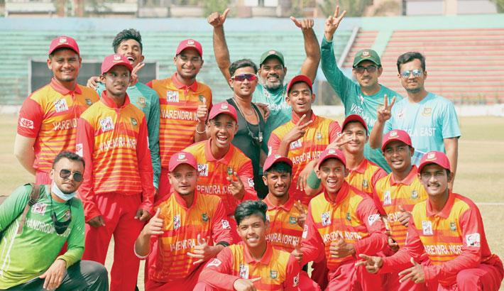 Varendra North Zone make winning start in men's cricket
