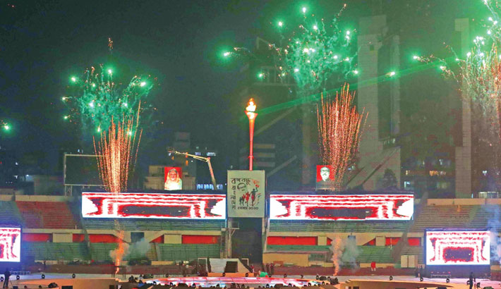 PM inaugurates Bangabandhu Bangladesh Games