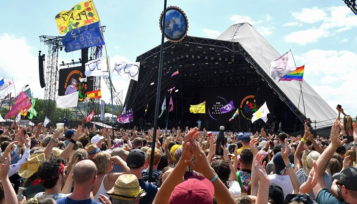 Glastonbury Festival and Canterbury Cathedral get slice of £400m culture fund