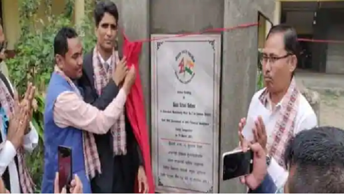 New school building built in Nepal's Chitwan with India's assistance