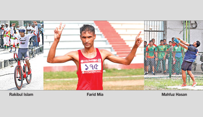 Marathon runner Farid earns first gold in athletics; Baki disappoints