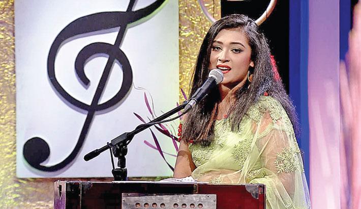 Musical show 'Boishakhir Sokaler Gaan