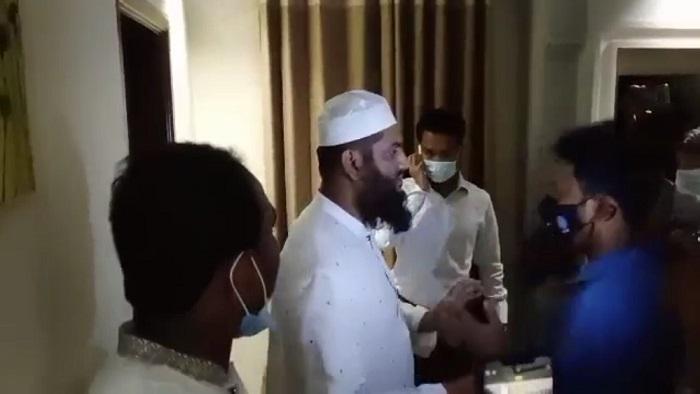 Hefazat leader Mamunul Haque in police custody