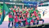 Bangladesh emerge unbeaten champions