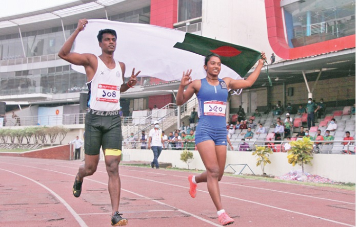 Ismail, Shirin remain fastest; record galore on day three