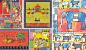 Art exhibition 'Colours of Tradition' gets underway at Edge Gallery