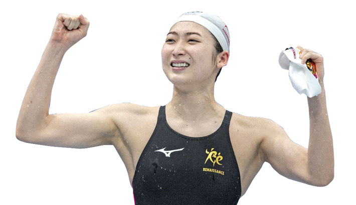 Ikee wins Olympic relay spot