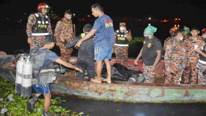 Sitalakkhya launch capsize: 6 bodies retrieved, over 15 still missing