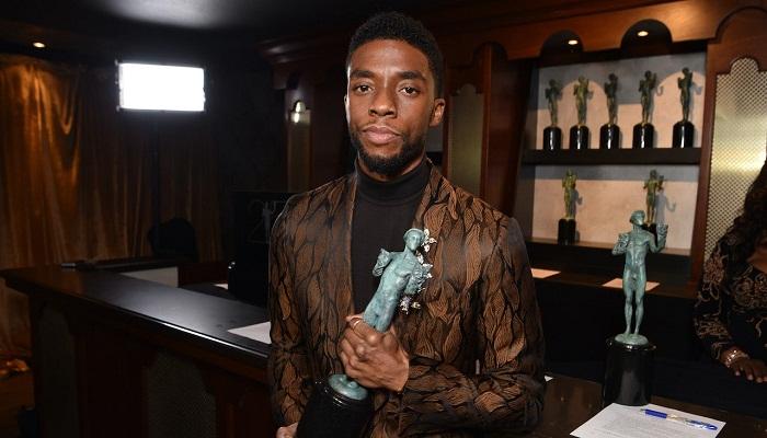 Chadwick Boseman honored at SAG Awards