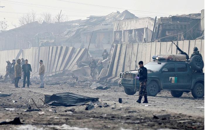 Car bombing near Kabul kills at least three security personnel
