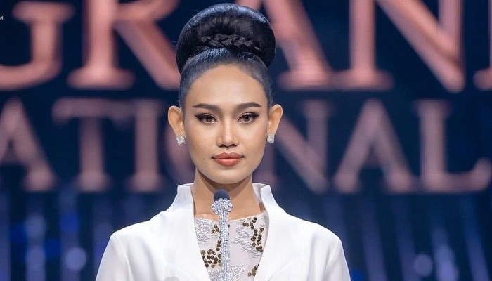 The Myanmar beauty queen standing up to the military