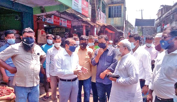 Cox's Bazar Deputy Commissioner Md Mamunur Rashid visits various places