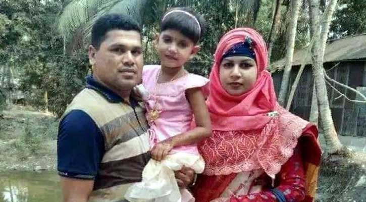 5-yr-old girl killed by stepmom in Khulna