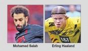 Salah, Haaland in talks as Champions League last eight starts