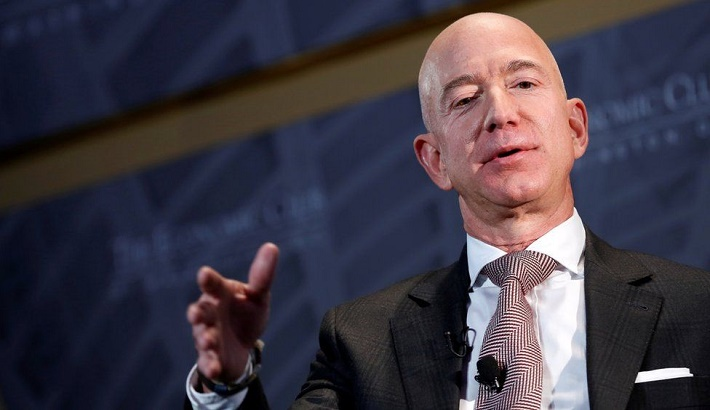 Amazon's Jeff Bezos backs tax rise on companies
