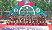 Army chief hands over regimental colour to 4 units