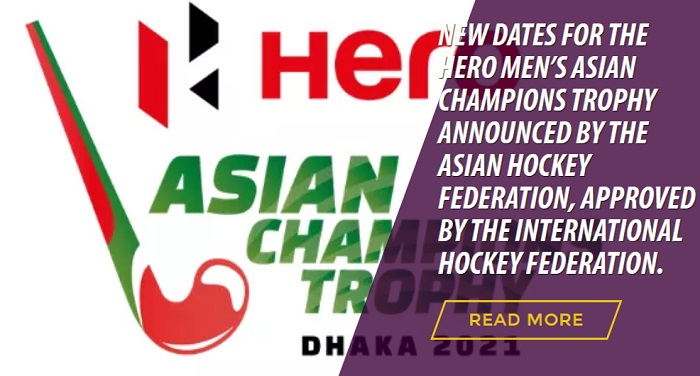 Asian Champions Trophy in October