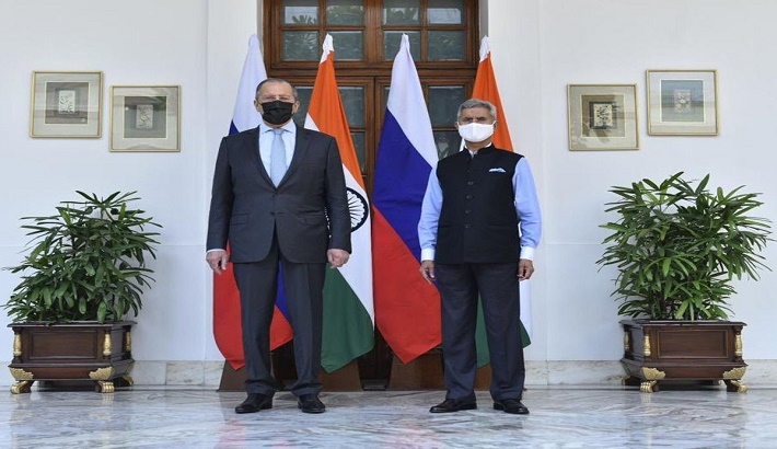 Russian FM Sergey Lavrov says New Delhi-Moscow bilateral dialogue at its 'sustainable highest' even amid Covid