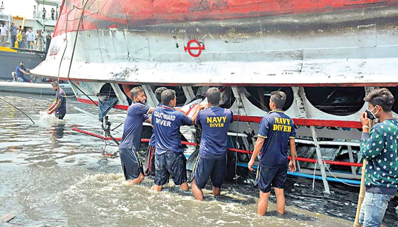 Sitalakkhya launch capsize: 5 accused put on 2-day remand