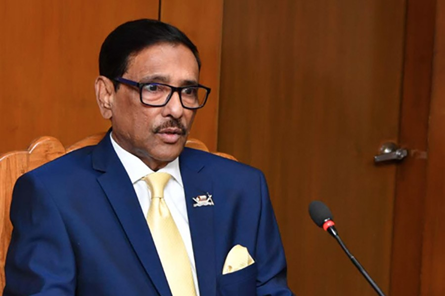 Government mulls 'full one week lockdown' from April 14: Quader