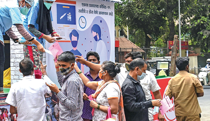 India suffers vaccine shortage as corona cases surge