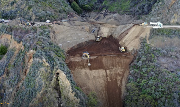 California Highway 1 to reopen by April 30