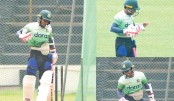 Mushfiqur's torrid time in nets
