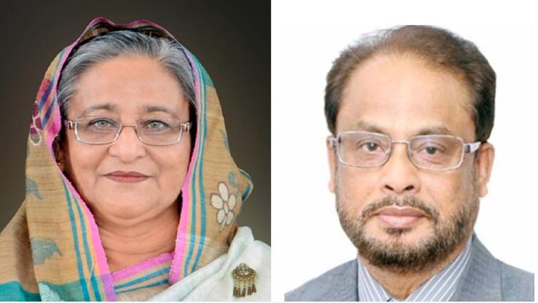GM Quader greets PM on Pahela Baishakh