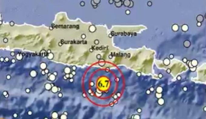 6.0-magnitude earthquake strikes off Indonesia coast: USGS