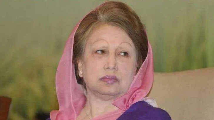 Khaleda Zia's Covid-19 test sample taken
