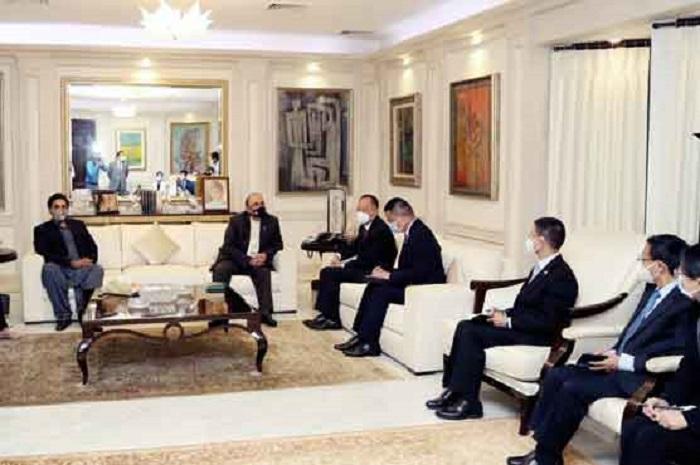 Chinese envoy meets Zardari, Bilawal